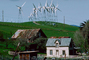 House, Building, Home, barn, hills, grass, fence, shed, rural, domestic, domicile, residency, housing, outdoors, outside, exterior, architecture, Portfolio, Icon, Iconic, Altamont Pass, California, TPWV01P03_08