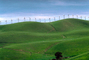 Green Hills, grass, winter, Altamont Pass, California