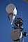 Microwave Horn, Route 66, Winslow, Arizona, Microwave Tower, TRAD01_051