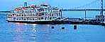 San Francisco Belle, Dock, Water, Bay, Panorama, IMO: 102618, TSPD01_018