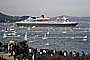 Queen Mary 2 enters San Francisco Bay, IMO: 9241061, Ocean Liner, Cunard Line, Steamship, TSPD01_130
