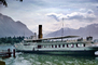 lake steamer Helvetie, Chillon, 1950's