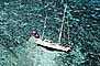 Coral Reef, Shipwreck on a Barrier Reef, yacht, salvage operation