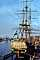 Stad Amsterdam, 3-masted steel ship, clipper