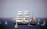 Star of India, full-rigged iron windjammer ship, Barque, museum ship