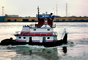 Tugboat, Pusher Tug, Mississippi River, New Orleans