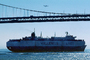 San Francisco Oakland Bay Bridge, Wallenius Lines, RoRo, Ro-Ro, Tosca, Vehicle Carrier, IMO: 7708833