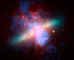 starburst galaxy, Messier 82 (M82), UGND01_081