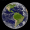 global, water, round, North America, South America, the Americas, artistic globe, land masses, the Western Hemisphere, UPED01_008