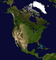 North America, land mass, USA, Greenland, Iceland, Canada, Alaska, Central America, Cuba, Mexico, UPED01_009