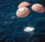 Apollo Command Module, Splash Down, Parachutes, splashdown, USLV01P02_11