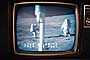 Live Color TV from the Moon, Television Screen, Live from the Moon, Walking on the Moon, Moonwalk, Walk, 1960's, USLV01P08_08