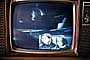 Television Screen, Live from the Moon, Walking on the Moon, Moonwalk, Walk, 1960's, USLV01P08_10