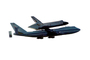 Last flight of the Space Shuttle Endeavor, Shuttle Carrier Aircraft (SCA), Space Shuttle Ferry, NASA Space Shuttle Carrier, Boeing 747-100, photo-object, object, cut-out, cutout, USRD01_021F