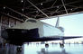 Spaceshuttle Enterprise, Inside hangar, Edwards Air Force Base, California, USRV01P08_01