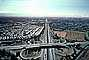 Cloverleaf Interchange, overpass, underpass, intersection, freeway, highway, symmetry, exit, Four-way Interchange, Interstate Highway I-680, I-580