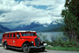 Model 706, White Motor Company, Red Jammers, Glacier National Park, Montana