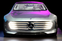 Self-driving Mercedes-Benz F 015 concept car, CES Convention 2016, Consumer Electronics Show, tradeshow, VCCD01_208