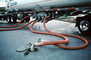 Tanker Truck, Hose, Nozzle, Filling the underground tanks, VCPV01P10_02