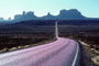 Road, Roadway, Highway 163, Monument Valley, Arizona, geologic feature, butte