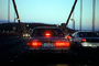 Golden Gate Bridge, car, sedan, automobile, vehicle