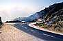 Big Sur, Pacific Coast Highway-1, Road, Highway, Car, Vehicle, Automobile, PCH, fog, 1960's, VCRV20P06_10