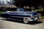 1953 Cadillac Series 62, two-door cabriolet, whitewall tires, 1950's