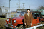 1948 Jeep Jeepster, Car, Man, Suit and tie, 1940's