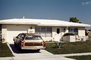 1972 Ford Country Squire, Station Wagon, taillight, rear, tail light, back end, Home, House, suburbia, 1973, 1970's