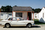 1961 Plymouth Valiant, car, girl, 1960's