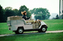 golf cart, box, boxes, package, delivery, VCTV01P03_16
