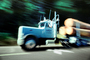 Logging Truck, flatbed trailer, Hood Canal, VCTV01P04_12
