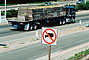 No Trucks Allowed, US Highway 101, Wood Pallets, Flatbed Trailer, VCTV01P09_14.0568