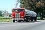 Gasoline Truck, Freightliner, Napa Valley, Tanker, cabover semi trailer truck, flat front