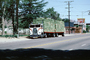Freightliner, hay bales, Lone Pine, Owens Valley, the Trails Motel, stacks, cabover semi trailer truck, flat front
