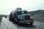 hopper, Peterbilt, Semi, eastern San Luis Obispo County