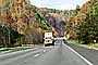 Fall Colors, Autumn, Deciduous Trees, Woodland, Highway 15, north of Hazard, VCTV03P07_03