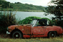 Rusting Car, Rust, Sonoma County, VCZV01P04_11