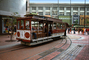Cable Car Turnaround, turntable, Powell and Market Streets, June 1978, 1970's