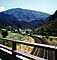 Track curve, Valley, Mountains, Aspen, Colorado, VRFV06P12_10