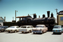 PRR 1187, 2-8-0, Ford, Chevy Station Wagon, Cars, Vehicles, Automobile 1960's