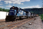 Conrail, CR 6510, U25C, six-axle road switcher