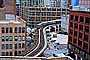 Chicago-El, Elevated, Downtown Loop, Buildings, S-Curve, Trains, CTA, VRHV02P14_09