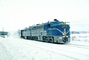 Delaware & Hudson, DH 19, Snow, Ice, ALCO PA-4, Fort Ticonderoga New York