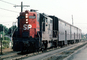 SP 3189, #53, GP9R, Southern Pacific, Diesel Electric Locomotive, Peninsula Commuter, (Caltrain)