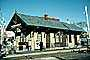 Train Station, Depot, Anderson Street, New Jersey, building